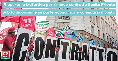 Sospeso lo sciopero sanità privata 20 settembre 2019