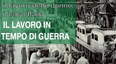 Il lavoro delle donne: il caso dell'Italia. – Martedì 12 novembre, ore 17,00-19,00 – Polo del '900 – Sala Memoria delle Alpi