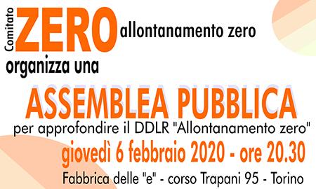 assemblea pubblica comitato zero
