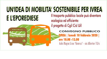 Trasporto urbano e suburbano completamente elettrico a Ivrea e nell'eporediese: è il progetto di Cgil Cisl Uil Torino e Canavese