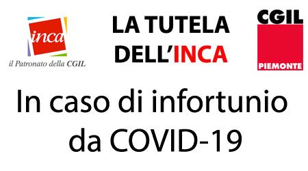 La Tutela dell'INCA in caso di infortunio da COVID-19