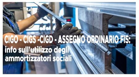 Ammortizzatori ed incidenza su istituti diversi: il quadro sintetico a cura del Dipartimento Mercato del Lavoro Cgil Torino