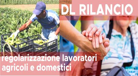 Regolarizzazione dei rapporti di lavoro agricolo e domestico, qui tutte le informazioni per le domande