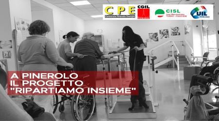 """A Pinerolo il progetto """"Ripartiamo insieme"""" a sostegno delle strutture per anziani e disabili"""